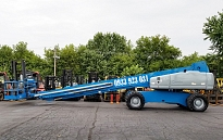Manlift 120ft for rental Genie S120